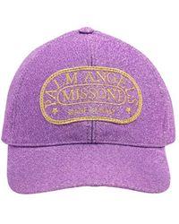 Palm Angels Кепка & Missoni - Пурпурный