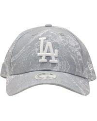 KTZ Бейсболка La Dodgers Marble 9forty - Серый