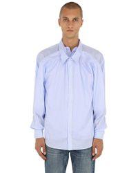 Y. Project - Camicia In Popeline Di Cotone - Lyst