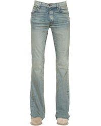 Amiri 27cm Jeans Aus Baumwolldenim - Blau