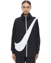 Nike Sweatshirt Mit Logo - Schwarz
