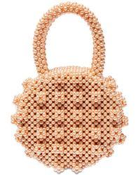 Shrimps Selena Round Beaded Top Handle Bag - Mehrfarbig