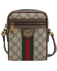 "Gucci Tasche ""gg Supreme Ophidia Flight Bag"" - Natur"