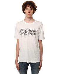 Saint Laurent コットンジャージーtシャツ - ホワイト
