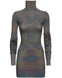 Dolce & Gabbana Платье С Пайетками - Металлик