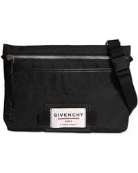 Givenchy Нейлоновая Сумка С Логотипом - Черный