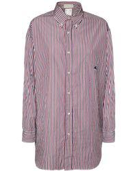 Etro オーバーサイズコットンポプリンシャツ - マルチカラー