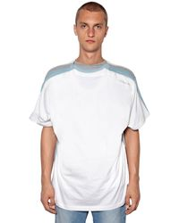 Y. Project T-shirt Aus Baumwolljersey Mit Druck - Weiß