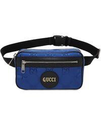 """Gucci Gürteltasche Aus Eco-nylon """" Off The Grid"""" - Blau"""