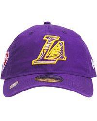 KTZ Кепка 9twenty Кепка Los Angeles Lakers - Пурпурный