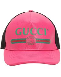 Gucci - Front Logo Hat - Lyst