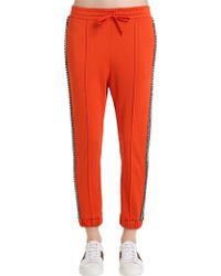 Gucci - Crystal Techno Jersey Track Trousers - Lyst