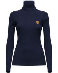 KENZO - ウール タートルネックセーター - Lyst