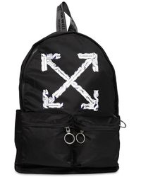 Off-White c/o Virgil Abloh Black Airport Tape Backpack