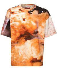 424 コットンジャージーtシャツ - オレンジ