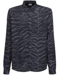 Ksubi Whip Animal レーヨンシャツ - ブラック