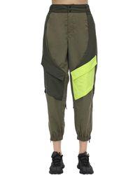 Nike Pantalones Deportivos Cargo De Nylon - Verde