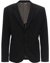 Armani Exchange Jersey Twill Jacket - Black