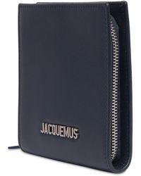 Jacquemus Le Gadjo Leather Crossbody Bag - Blue