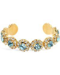 Shourouk Opera Aquamarine Bracelet - Blue