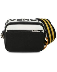Givenchy Reversible Logo Leather Crossbody Bag - Black