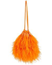 The Attico 'Greta' Clutch - Orange