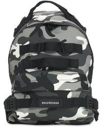 Balenciaga Army Multicarry ナイロンバックパック - ブラック