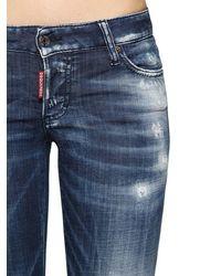 "DSquared² Jeans Aus Baumwolldenim ""jennifer Army"" - Blau"