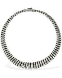 Etro Collar Choker Espiral - Metálico
