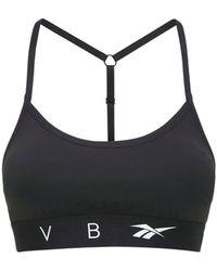 Reebok X Victoria Beckham Top Deportivo Rbk Vb - Negro