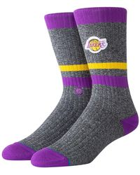 Stance Lakers Boot Socks - Multicolour