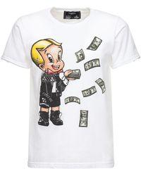 DOMREBEL Baller 25 コットンジャージーtシャツ - ホワイト