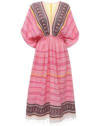 lemlem Neela コットンブレンドドレス - ピンク
