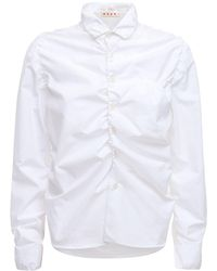 Marni - Рубашка Из Хлопка - Lyst
