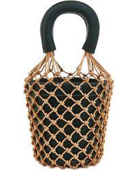 STAUD Moreau Leather Bucket Bag - Multicolour