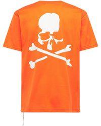 MASTERMIND WORLD コットンtシャツ - オレンジ