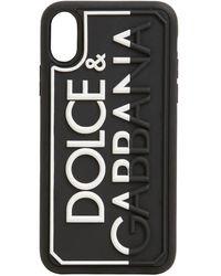 Dolce & Gabbana Чехол Для Iphone X Max С Логотипом - Черный