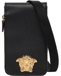 Versace - Кожаный Футляр Для Телефона Medusa - Lyst