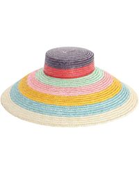 Missoni Pagoda Straw Hat - Mehrfarbig
