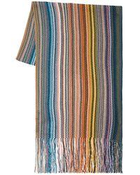 Missoni Bufanda De Lana Y Lurex A Rayas - Multicolor