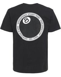 Stussy 8 Ball Dot T-shirt - Black