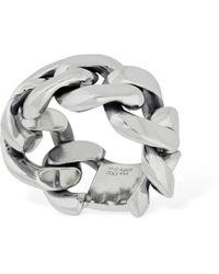 Bottega Veneta Dicker, Geflochtener Ring - Mettallic