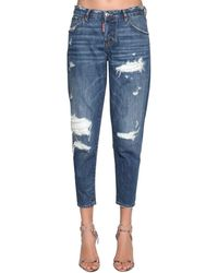 "DSquared² Jeans En Denim ""hockney"" - Bleu"