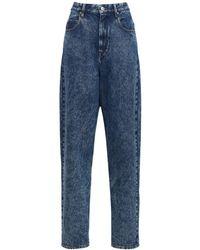 Étoile Isabel Marant Corsysr Straight Baggy Jeans - Blue