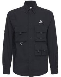 Nike Devestation Trail ワークシャツ - ブラック