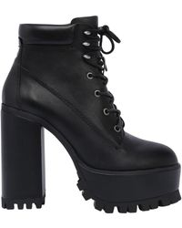 Windsor Smith - 100mm Parkland Lace Up Leather Boots - Lyst