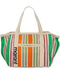 Isabel Marant Darwen Nylon Tote Bag - Multicolour