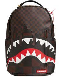 Sprayground Sharks In Paris Dlx Backpack - Brown