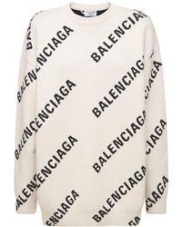Balenciaga - コットンスウェットシャツ - Lyst