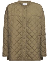 Designers Remix Braga Over Quilted Recycled Nylon Jacket - Green